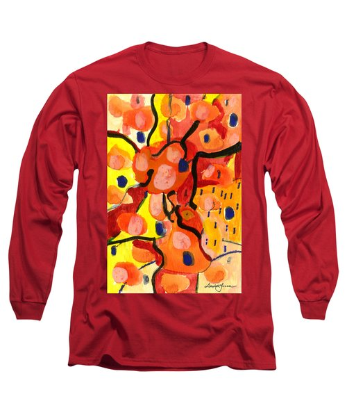 Balloons At Mid-day Long Sleeve T-Shirt by Stephen Lucas