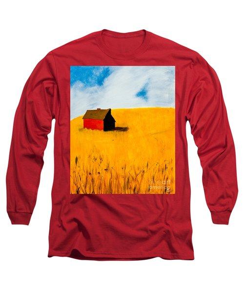 Barn Long Sleeve T-Shirt by Stefanie Forck