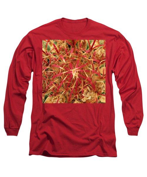 Barrel Cactus Long Sleeve T-Shirt by Laurel Powell