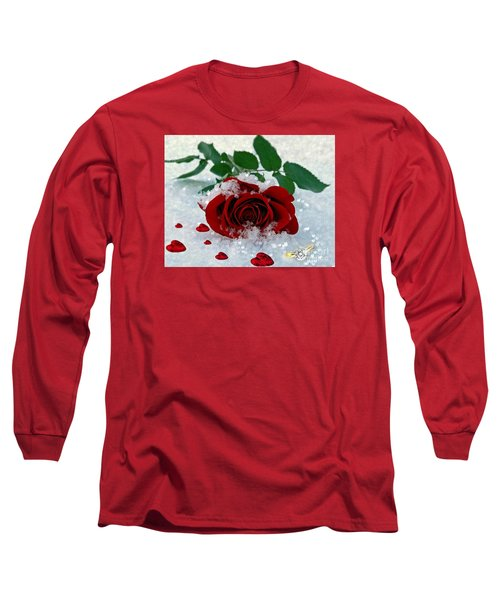 Be Mine Long Sleeve T-Shirt by Morag Bates