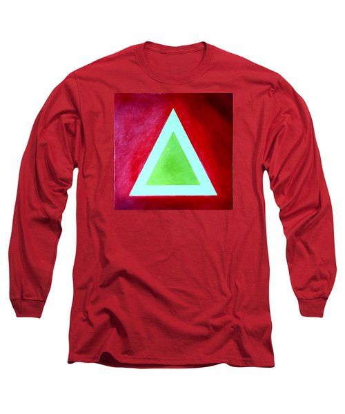 Long Sleeve T-Shirt featuring the painting Be Outstanding by Thomas Gronowski