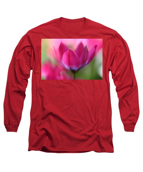 Beautiful Pink Long Sleeve T-Shirt