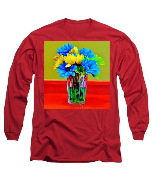 Beauty In A Vase Long Sleeve T-Shirt