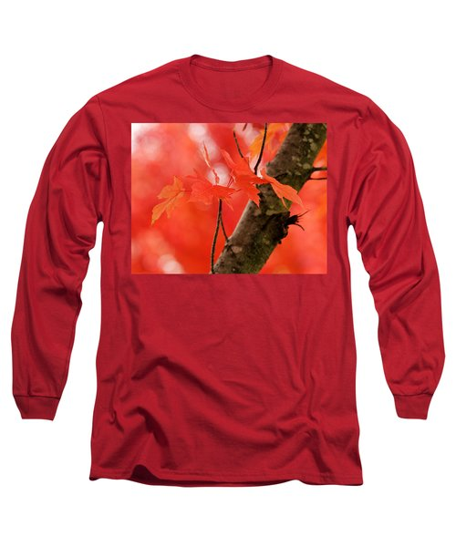 Beauty Of Red Long Sleeve T-Shirt