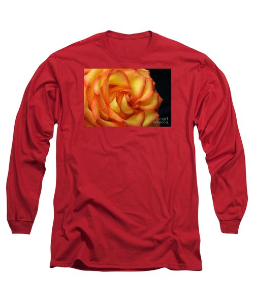 Long Sleeve T-Shirt featuring the photograph Beauty Unfolds by Judy Whitton