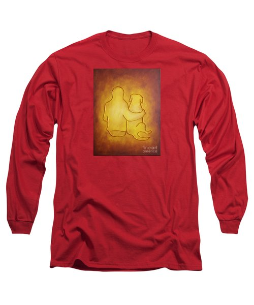 Being There 2 - Dog And Friend Long Sleeve T-Shirt