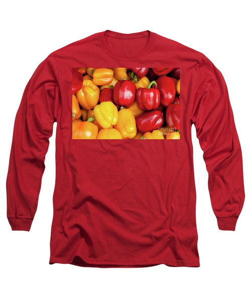 Bell Peppers Long Sleeve T-Shirt