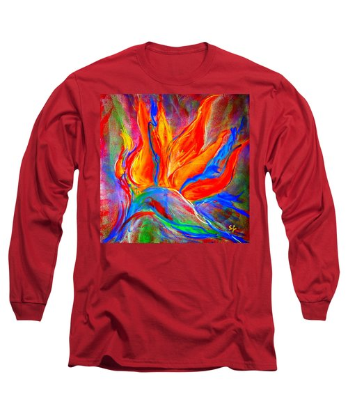 Bird Of Paradise Flower Long Sleeve T-Shirt