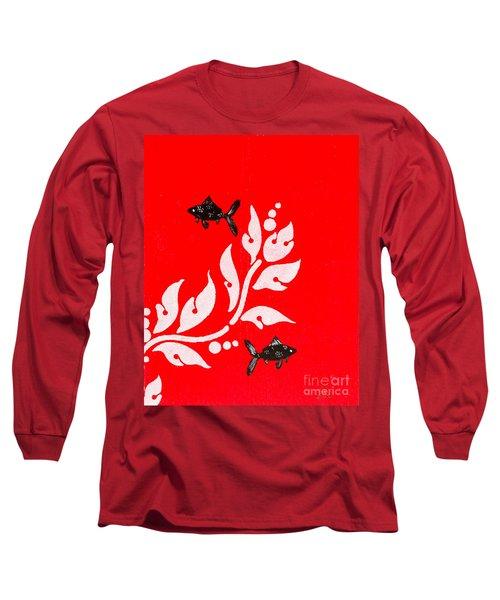 Black Fish Left Long Sleeve T-Shirt