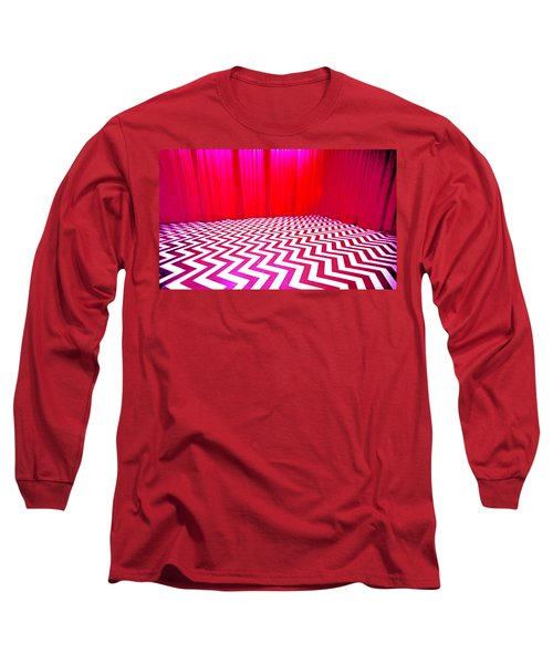 Black Lodge Magenta Long Sleeve T-Shirt