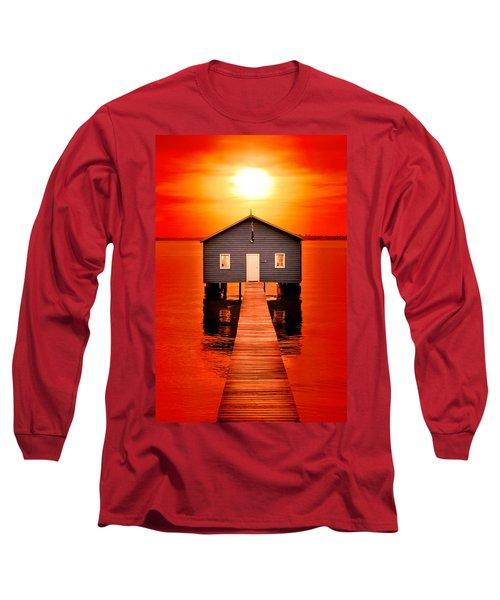 Blood Sunset Long Sleeve T-Shirt