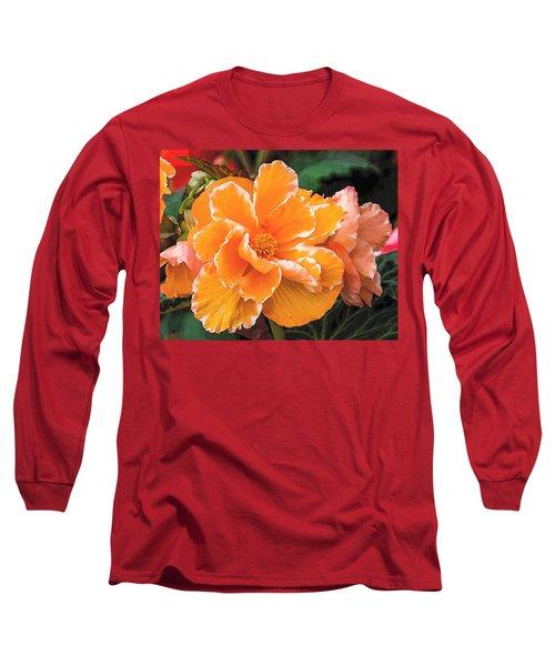 Blooming Begonia Image 1 Long Sleeve T-Shirt