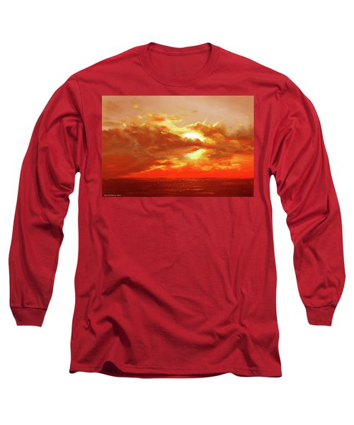 Bound Of Glory - Red Sunset  Long Sleeve T-Shirt