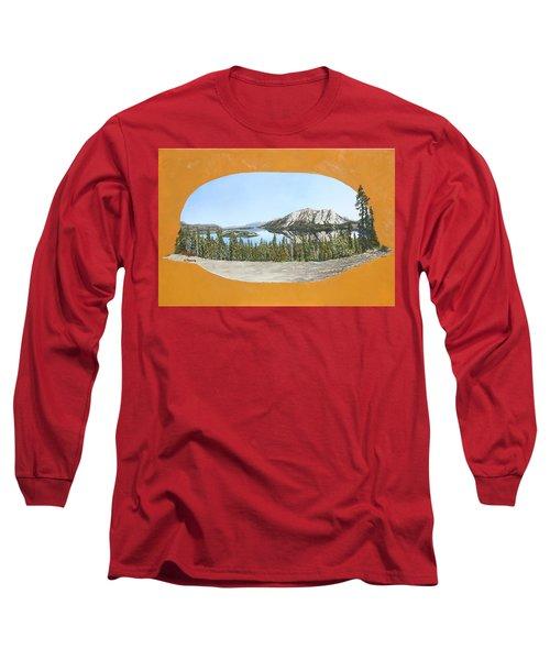 Bove Island Alaska Long Sleeve T-Shirt by Wendy Shoults