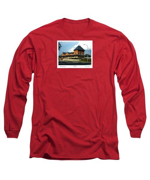 Bristol Train Station Bristol Virginia Long Sleeve T-Shirt