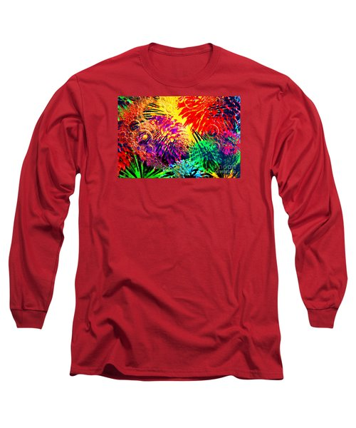 Long Sleeve T-Shirt featuring the photograph Bubbles by Geraldine DeBoer