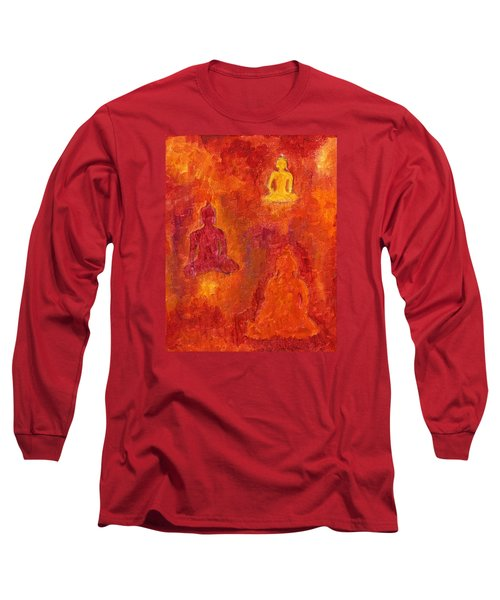 Buddhas Of Compassion Long Sleeve T-Shirt