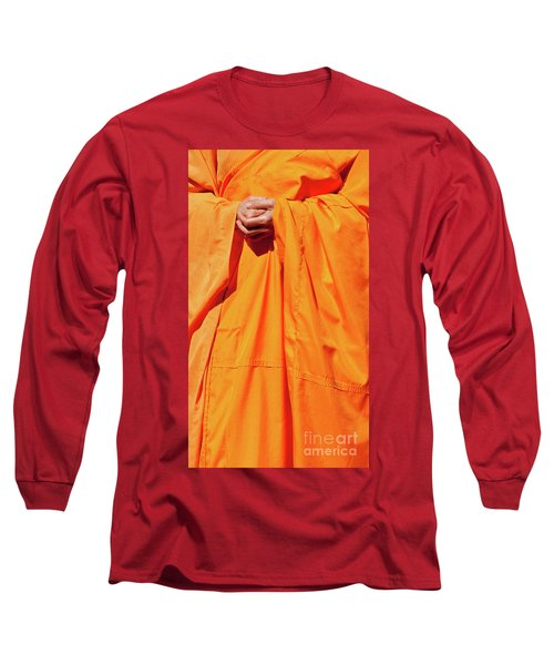 Buddhist Monk 02 Long Sleeve T-Shirt