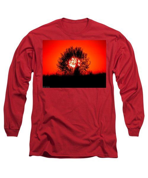 Burning Bush Long Sleeve T-Shirt by Nick Kirby