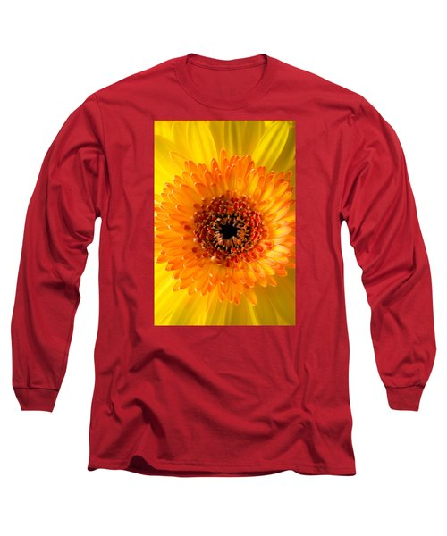 Burst Of Sunshine Long Sleeve T-Shirt by Shelby  Young