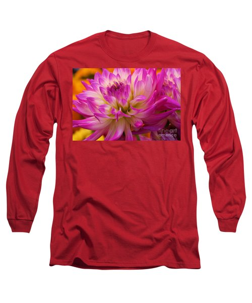 Long Sleeve T-Shirt featuring the photograph Bursting With Color by John S