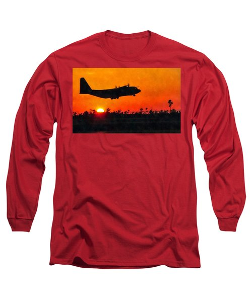 C-130 Sunset Long Sleeve T-Shirt