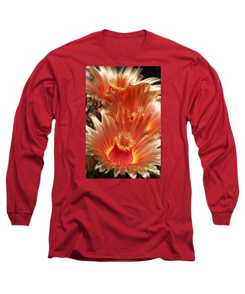 Cactus Blossoms Long Sleeve T-Shirt