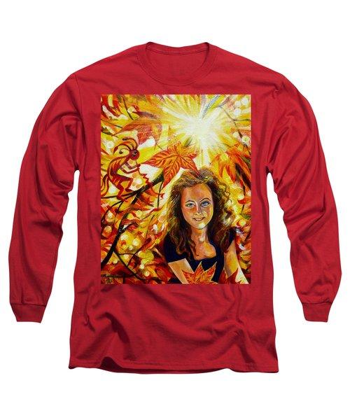 Canadian Autumn Long Sleeve T-Shirt