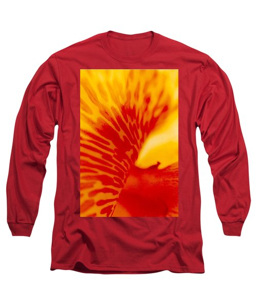 Long Sleeve T-Shirt featuring the photograph Canna Lilly by Michael Hoard