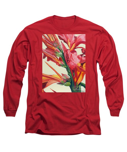Canna Lily Long Sleeve T-Shirt