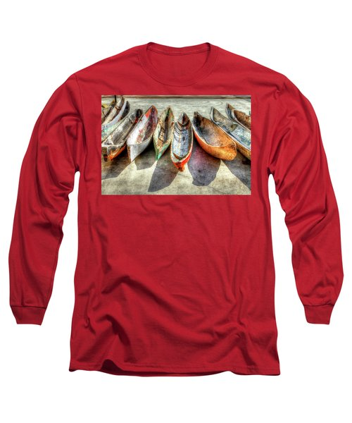 Canoes Long Sleeve T-Shirt