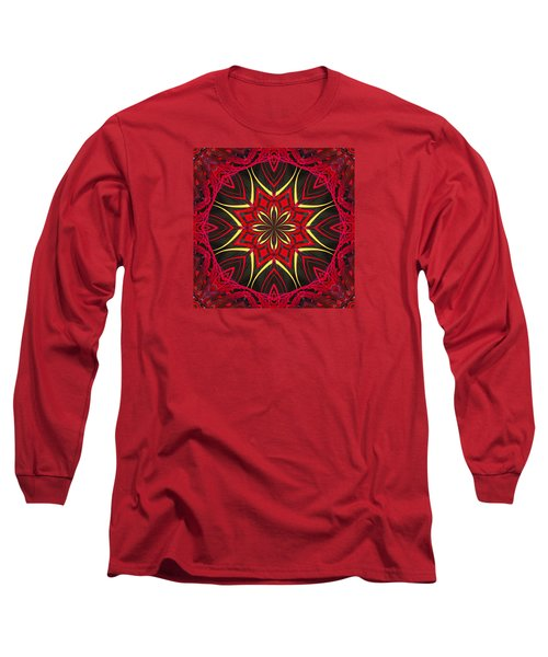 Long Sleeve T-Shirt featuring the photograph Captive Star  by I'ina Van Lawick