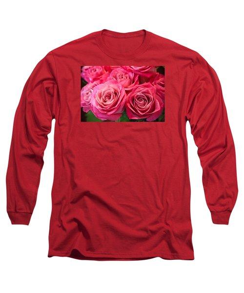 Capturing A Bouquet Long Sleeve T-Shirt
