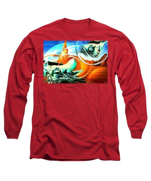 Car Fandango - Modern Art Long Sleeve T-Shirt