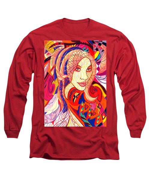 Carnival Girl Long Sleeve T-Shirt