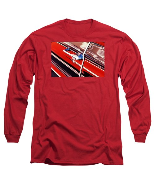 Long Sleeve T-Shirt featuring the photograph Chevy Or Caddie? by Ira Shander