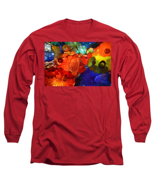Chihuly-8 Long Sleeve T-Shirt by Dean Ferreira