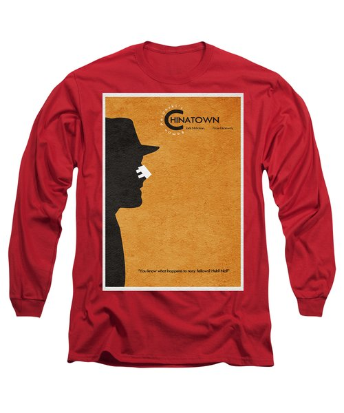 Chinatown Long Sleeve T-Shirt by Ayse Deniz