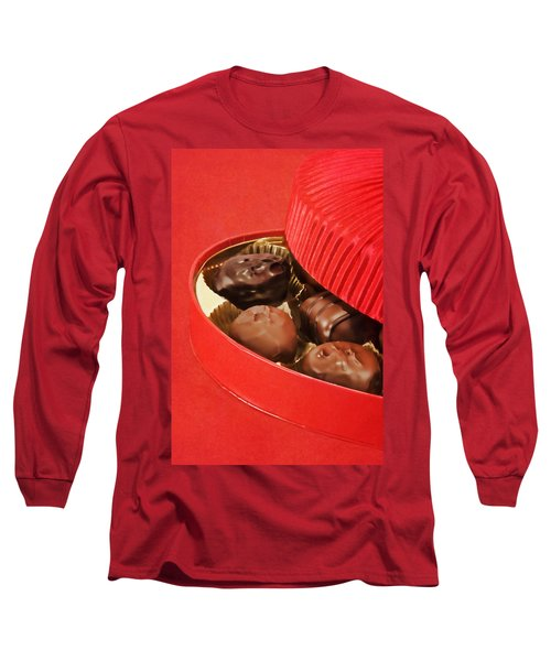 Long Sleeve T-Shirt featuring the photograph Chocolate Candy by Vizual Studio