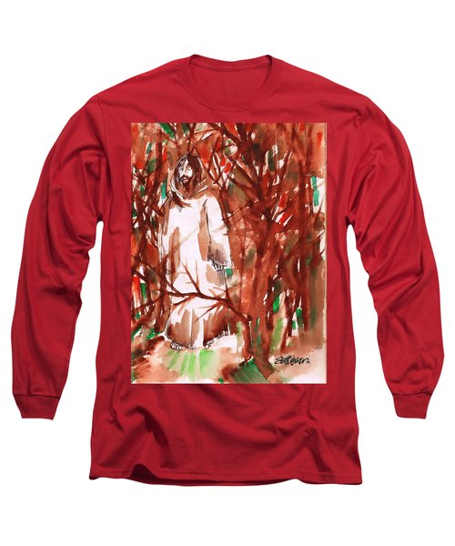 Christ In The Forest Long Sleeve T-Shirt