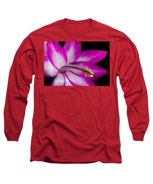 Christmas Cactus Long Sleeve T-Shirt