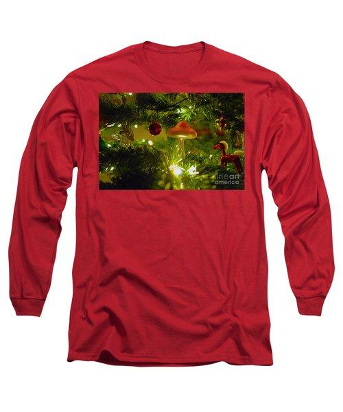 Long Sleeve T-Shirt featuring the photograph Christmas Card by Cassandra Buckley