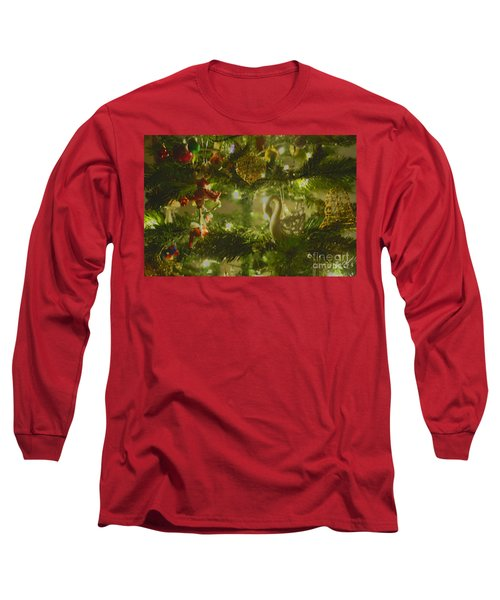 Long Sleeve T-Shirt featuring the photograph Christmas Cheer by Cassandra Buckley
