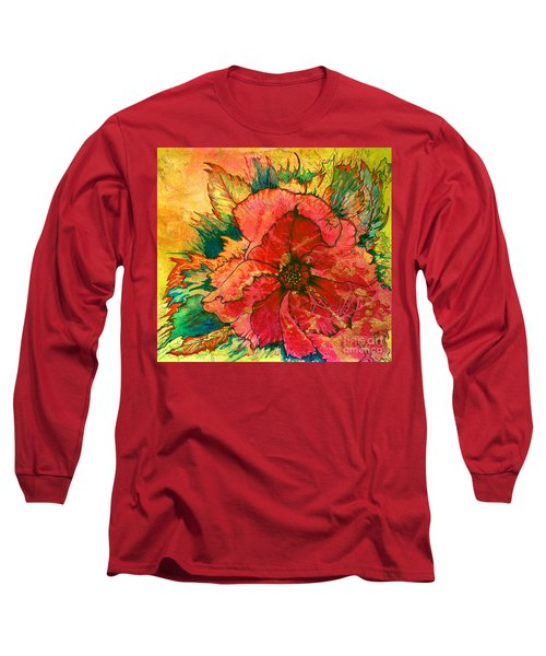 Christmas Flower Long Sleeve T-Shirt