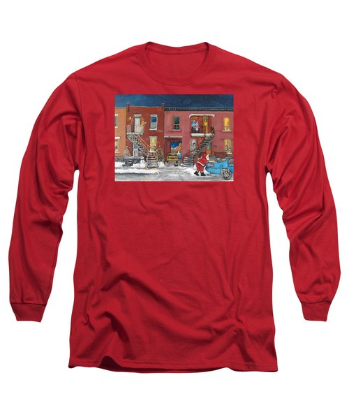 Christmas In The City Long Sleeve T-Shirt