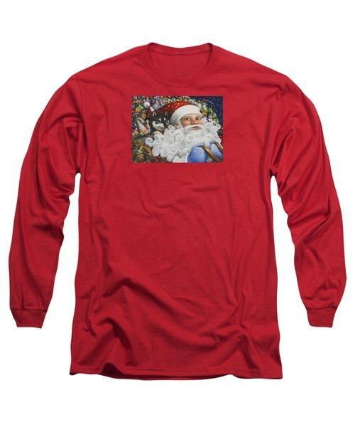 Christmas Stowaway Long Sleeve T-Shirt