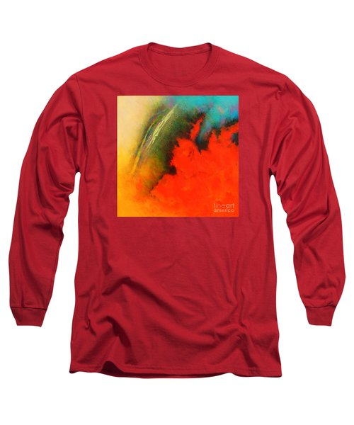 Fantasies In Space Series Painting. Chromatic Vibrations Long Sleeve T-Shirt