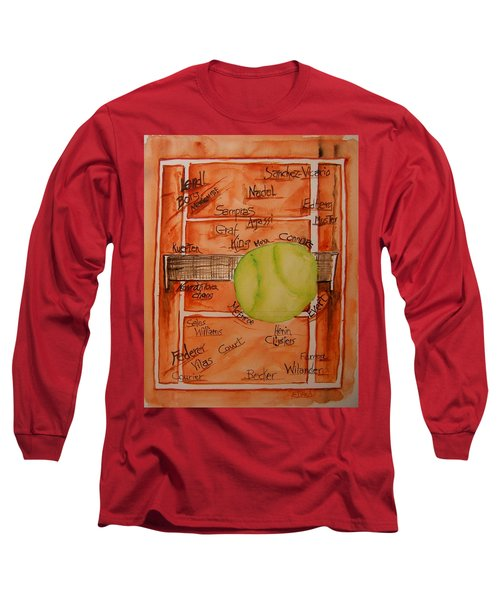 Clay Courters Long Sleeve T-Shirt