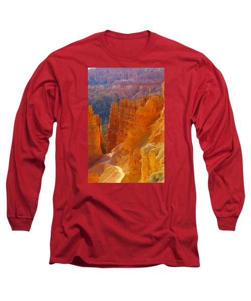 climbing out of the Canyon Long Sleeve T-Shirt