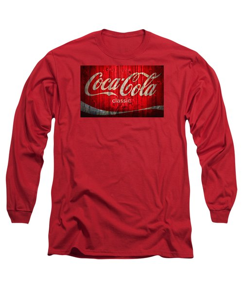 Coca Cola Barn Long Sleeve T-Shirt by Dan Sproul